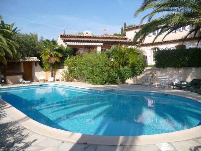 Villa Nice cote d'azur piscine privee et mer