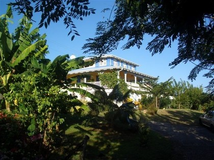 Studio dans maison créole, vue sur mer