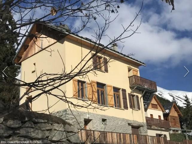 Grand Chalet PLEIN SUD, idéalement situé  /15 personnes- Saint-Sorlin-d'Arves
