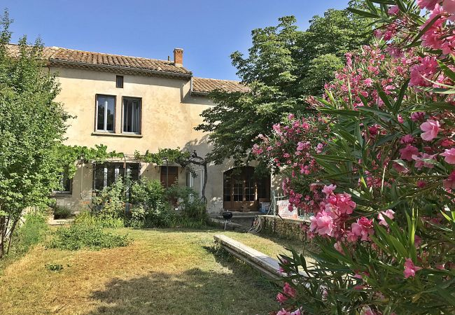 Holiday home for rent Rochegude France with Private pool