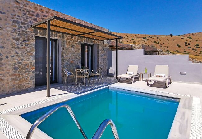 Holiday home for rent Rethymno Grèce with Private pool