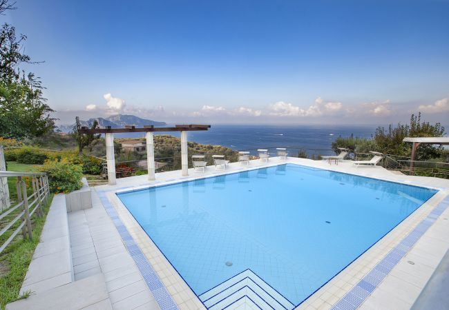Holiday home for rent Massa Lubrense Italie with Private pool