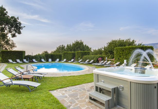 Holiday home for rent Sant´agnello Italie with Private pool