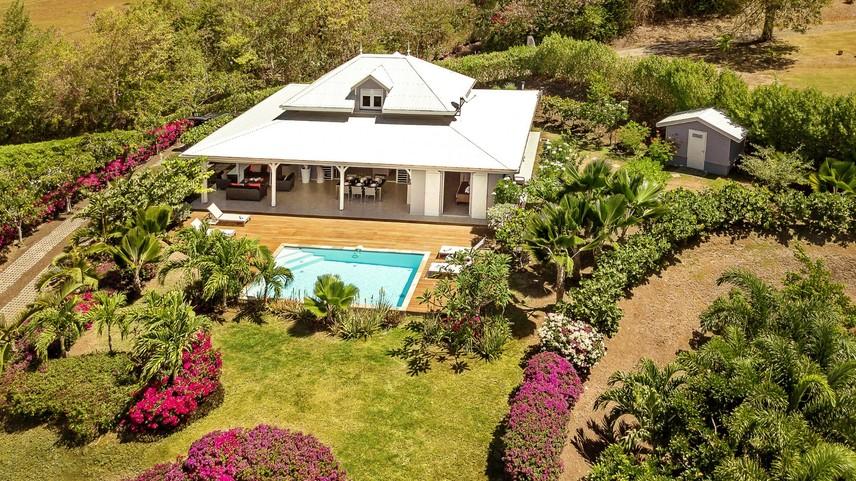 Location villas de luxe en Martinique