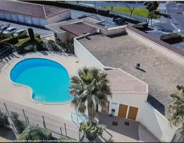 T2 in imm. secure with elevator, swimming pool in residence. Cliffs Area, Agde