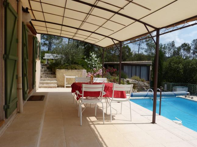 La Rousserolle, begane grond van villa voor 4 personen