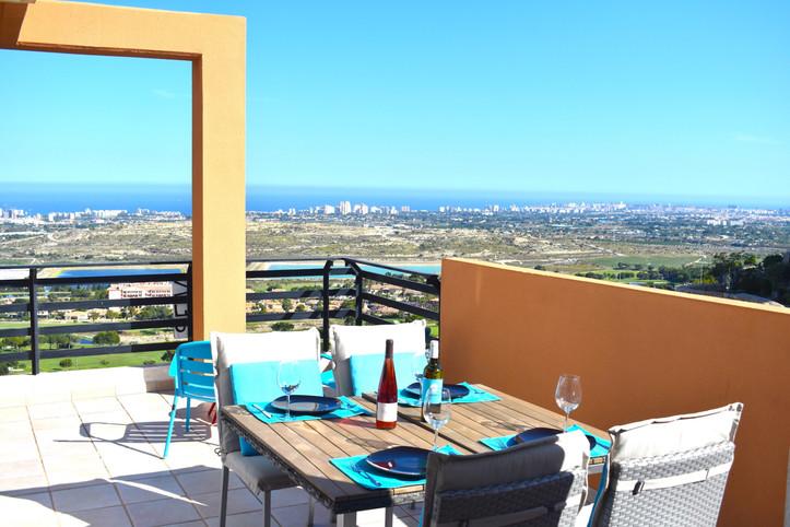 Mooie oase Azul - Alicante, Uitzicht op zee - Golf