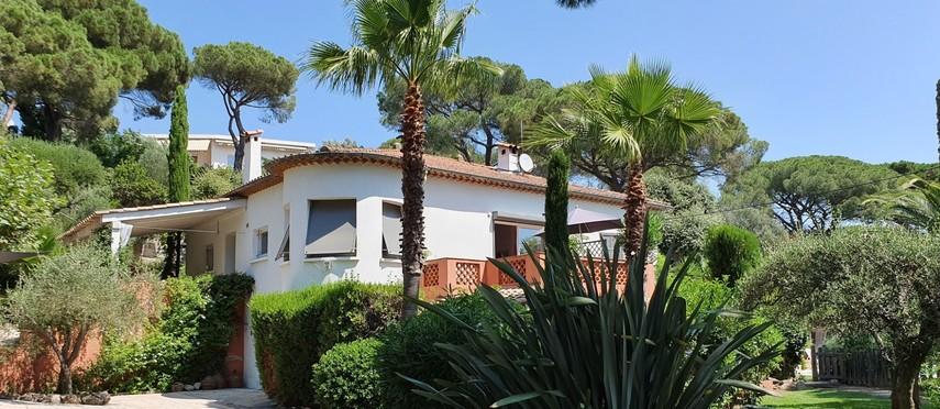 Siloé villa met zwembad voor 8 personen- Sainte-Maxime