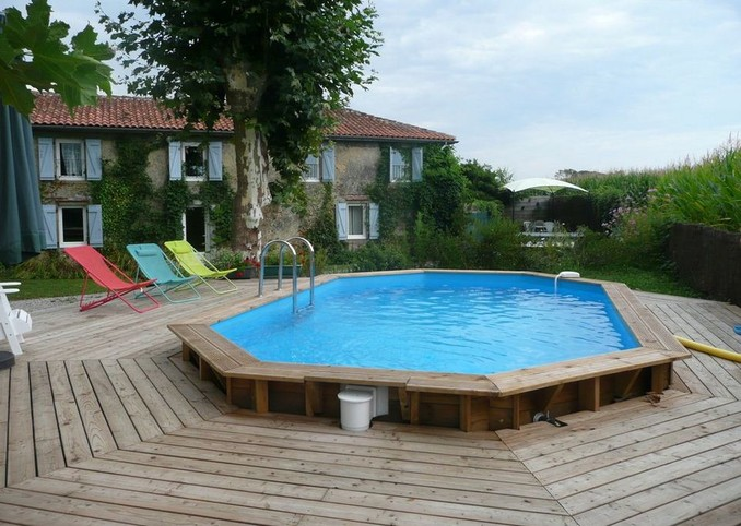 Large cottage for nature holiday pool and jacuzzi, Landes countryside from 2 to 8 (p)