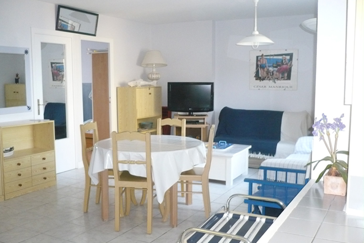 Huur appartement Saint-Malo 4 personen