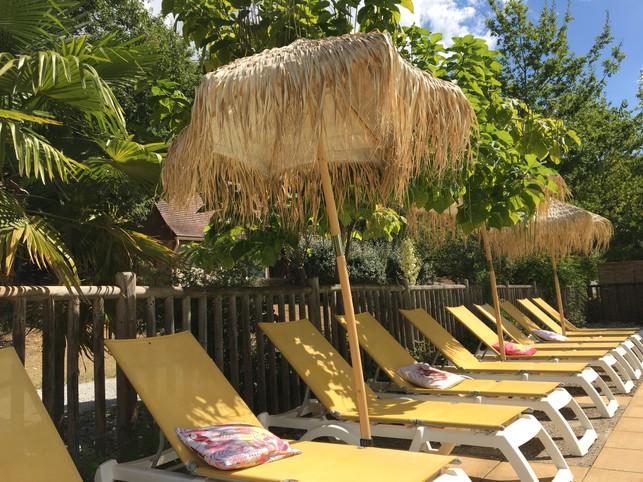 Huur Chalets 4 tot 8 personen.- Verwarmd zwembad - Domme - Dordogne - Périgord Noir