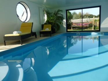 Plouescat villa avec piscine int rieur chauff e en - Villa bretagne piscine interieure ...