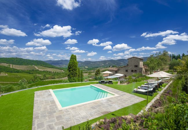 Holiday home for rent Panzano Italie with Private pool