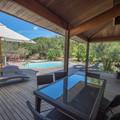 Villa toute en bois exotique dans le Maquis, piscine chauffée privée, jacuzzi, au calme, indépendante. - Porto-Vecchio