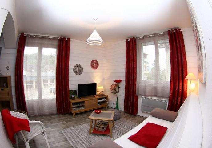 Appartement ,agréable et confortable de 60 m² pour 2/4 pers ,ensoleillé entre ville et Lac.