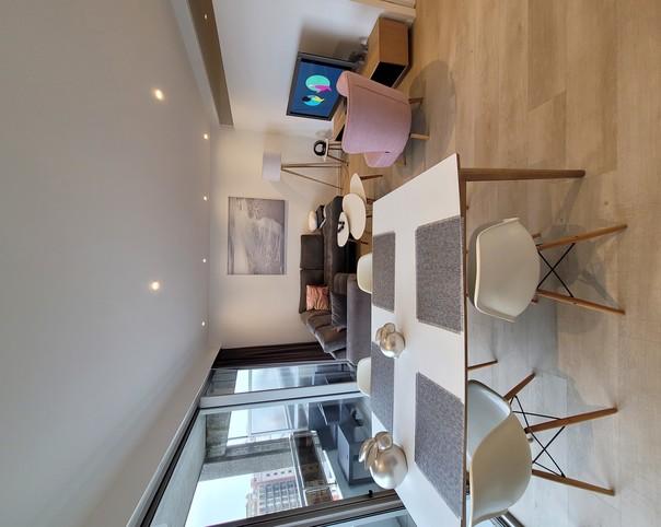 Bel appartement lumineux 2 ch. Nieuwpoort (garage incl.)