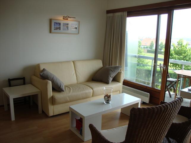 Appartement te Knokke-Heist met privéstrand en verwarmd binnenzwembad