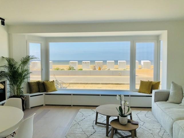 Nouvel appartement 'Zeepanne' pour 5pers avec vue frontale sur la mer