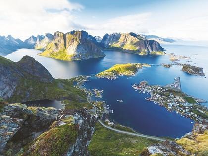 Croisière dans les fjords, îles Lofoten et le Cap Nord
