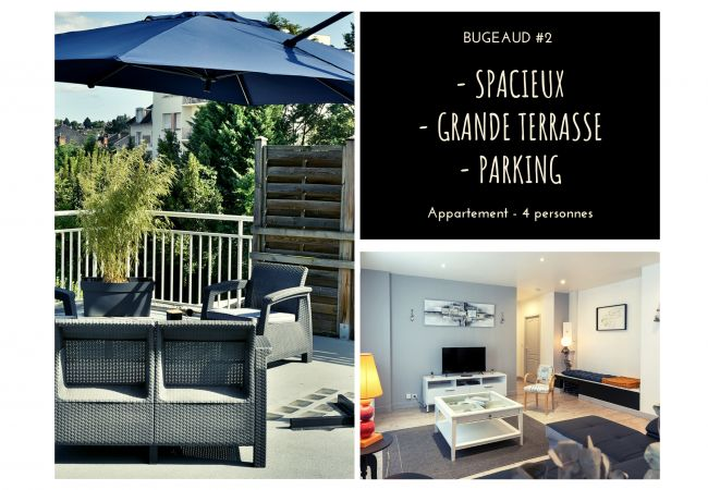 BUGEAUD #2 - Appart. Grande Terrasse - 2 chamb