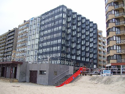 Rent a holiday apartment in Westende
