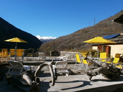 Chalet for rent in Orelle