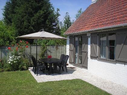 Maison de vacances romantique à louer à De Haan