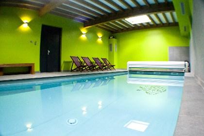 Huis met zwembad, jacuzzi en sauna aan Rochesson