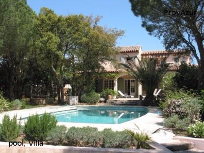 Gassin tr s belle villa proche de saint tropez maisons - Tres belle maison de vacances charette ...
