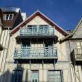 Belle maison de pêcheur en bord de mer à Trouville