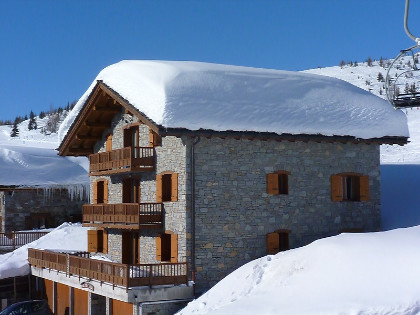 Apartment 100 m² 7 parts 10 pers foot of slopes