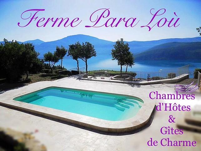 Huisje op het meer van Sainte Croix du Verdon