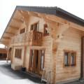 Au cœur des alpes dans le village de Bernex