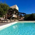 Villa 6pers face mer piscine chauffée plage à 400m