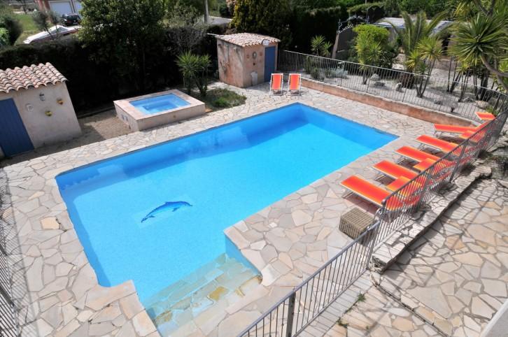 Vence propriete provencale avec piscine chauff e - Prix piscine chauffee ...