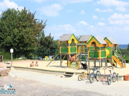 Villers sur mer basse normandie camping bellevue for Camping cabourg piscine