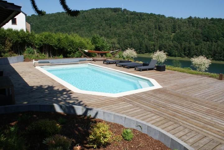 gite à Grand Coo 7p piscine/jacuzzi