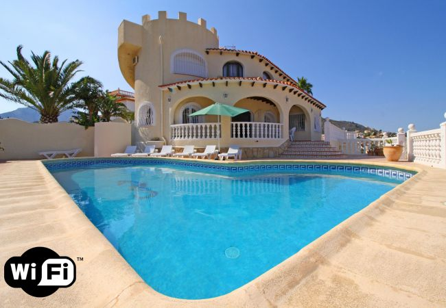 Holiday home for rent Calpe / Calp Espagne with Private pool
