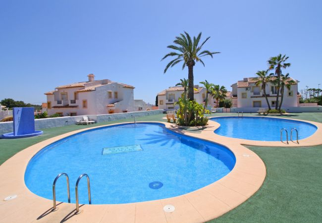 Camping for rent Calpe / Calp Espagne with Pool to share