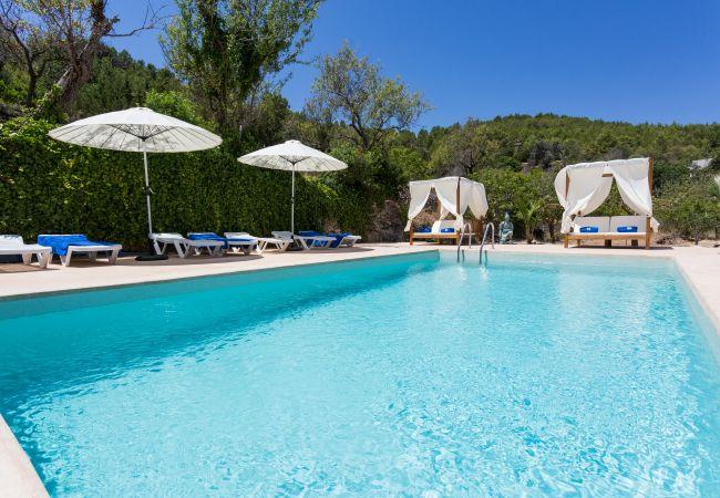 Vakantiehuis te huur Sant Joan De Labritja Espagne met Privé zwembad