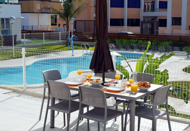 Apartment for rent San Javier Espagne with Pool to share