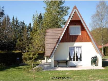 Chalet pointu 6 places