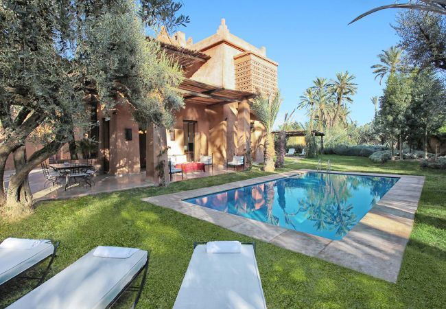 Holiday home for rent Marrakech Palmeraie Maroc
