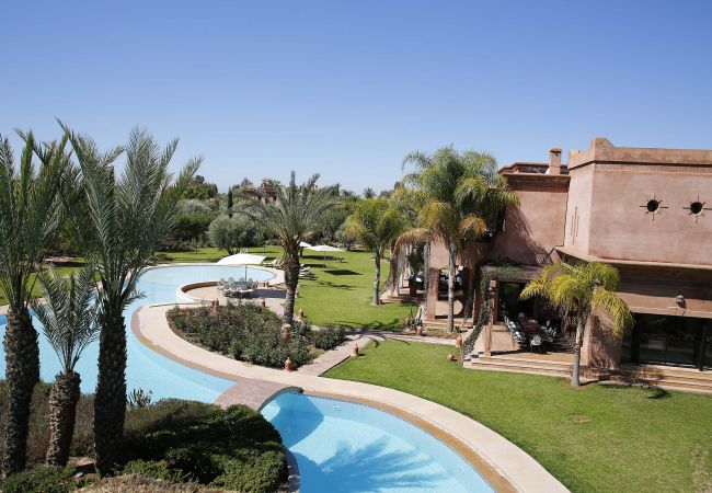 Holiday home for rent Marrakech Alentours Maroc with Private pool