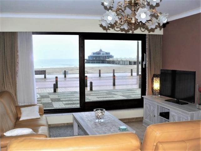 Appartement confortable sur le bord de mer à Blankenberge