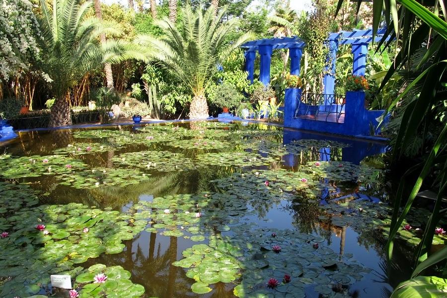 Marrakech la verte avec ses plus beaux jardins