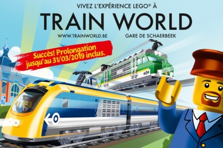 La Lego Experience prolongée à Train World jusqu'au 31 mars