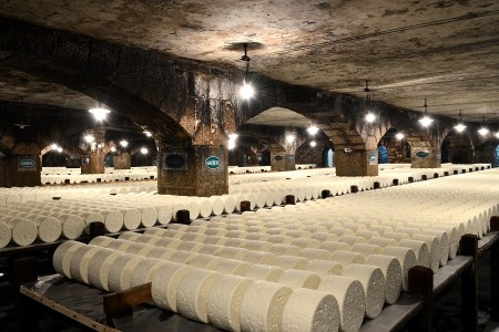 Les caves d'affinage de Roquefort